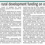 More Rural Development Funding On Offer