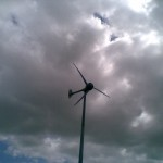 Small wind turbines ride out last week's Atlantic storms
