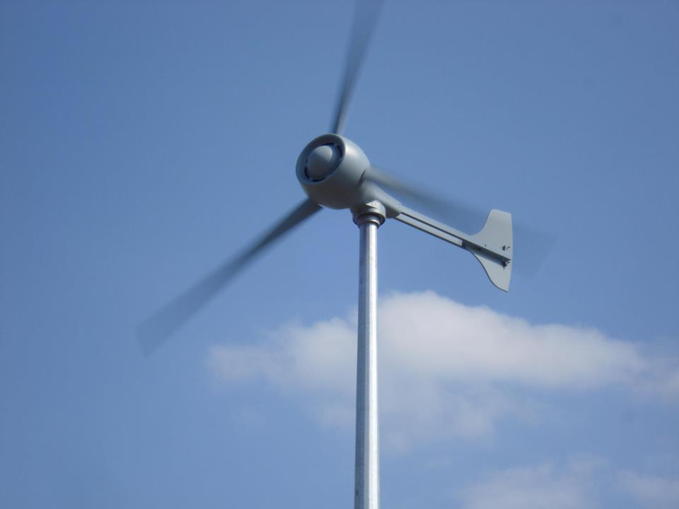 Evance R9000 5kW Wind Turbine