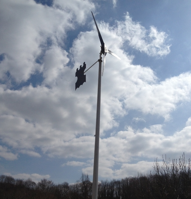 The Kingsriver 4.2m off grid wind turbine