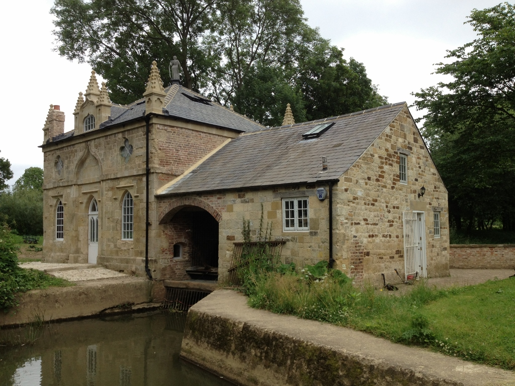 Howsham Mill restored to its former glory