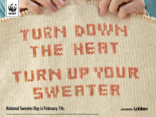 Wear a jumper!