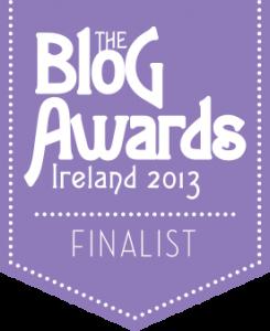 blog awards Ireland finalist