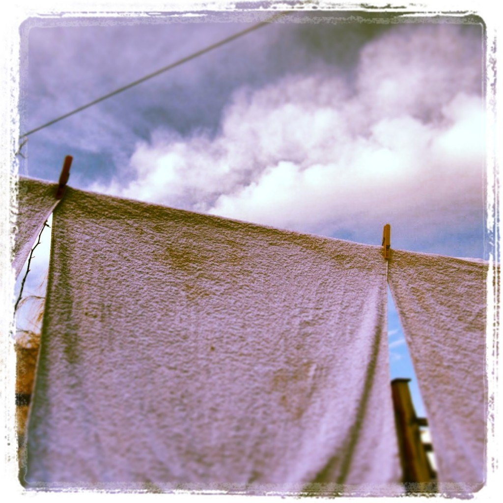 Solar powered clothes dryer!