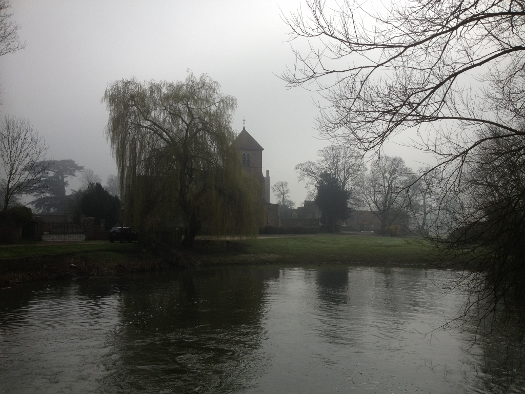 Mapledurham Watermill - last working watermill
