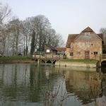 Mapledurham Watermill ~ the last working cornmill on the Thames.