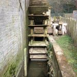 New water wheel turns at Mapledurham watermill