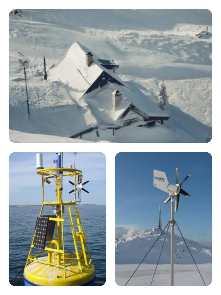 Ampair 100 - 100 watt turbine for boats and remote off-grid charging.