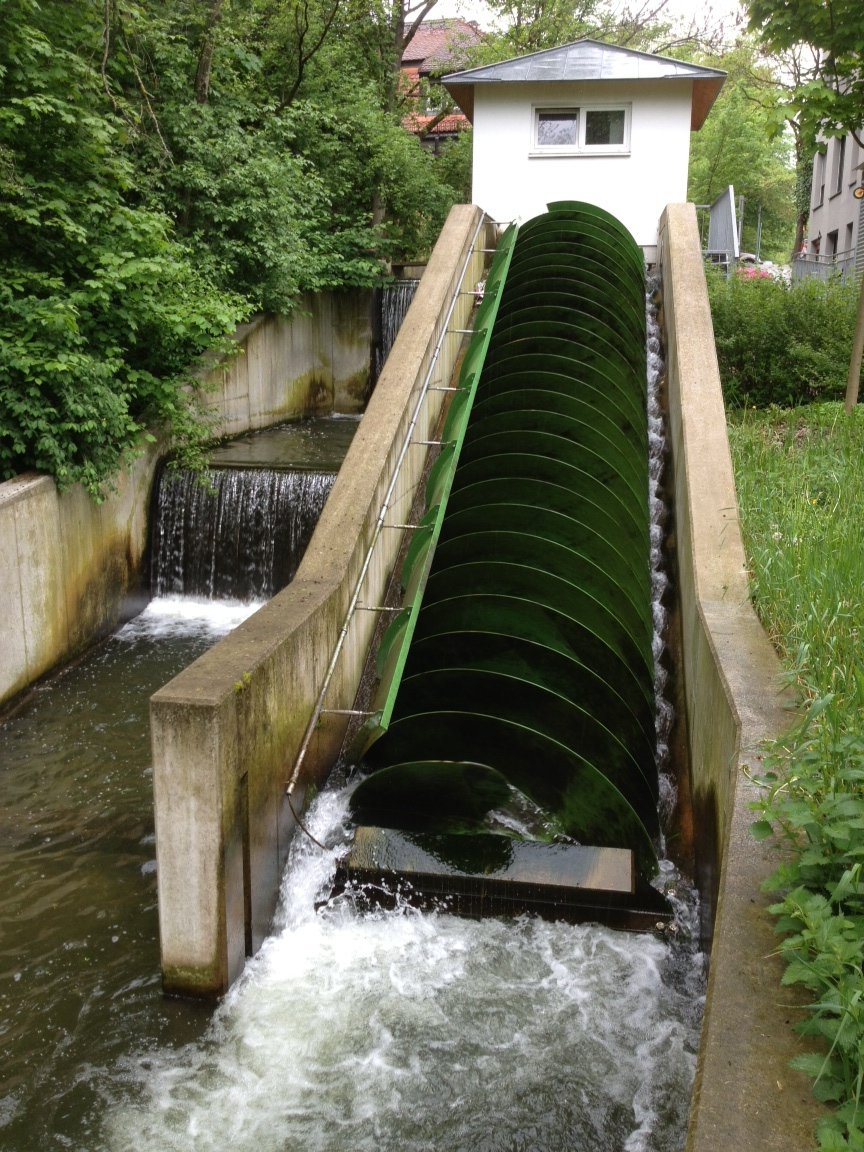 Archimedes Screw in Munich