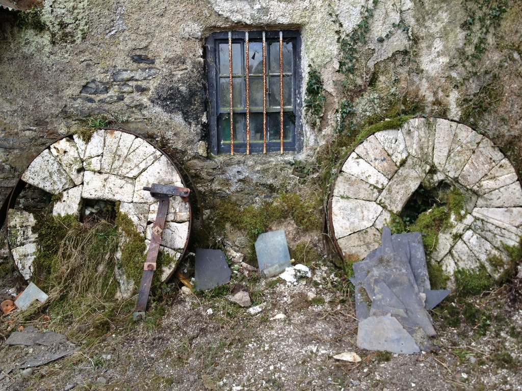 Wordless Wednesday ~ Mill stones at Bolands Mill, Kilkenny