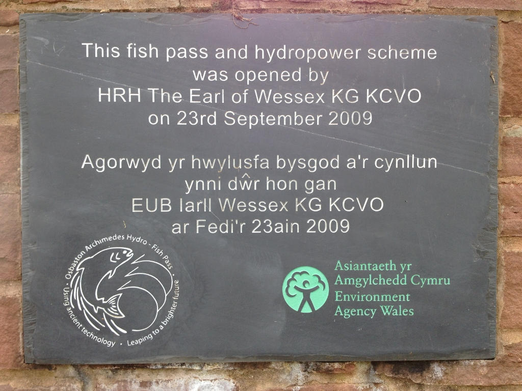 Osbaston Hydropower and fish pass ~ Revisited!