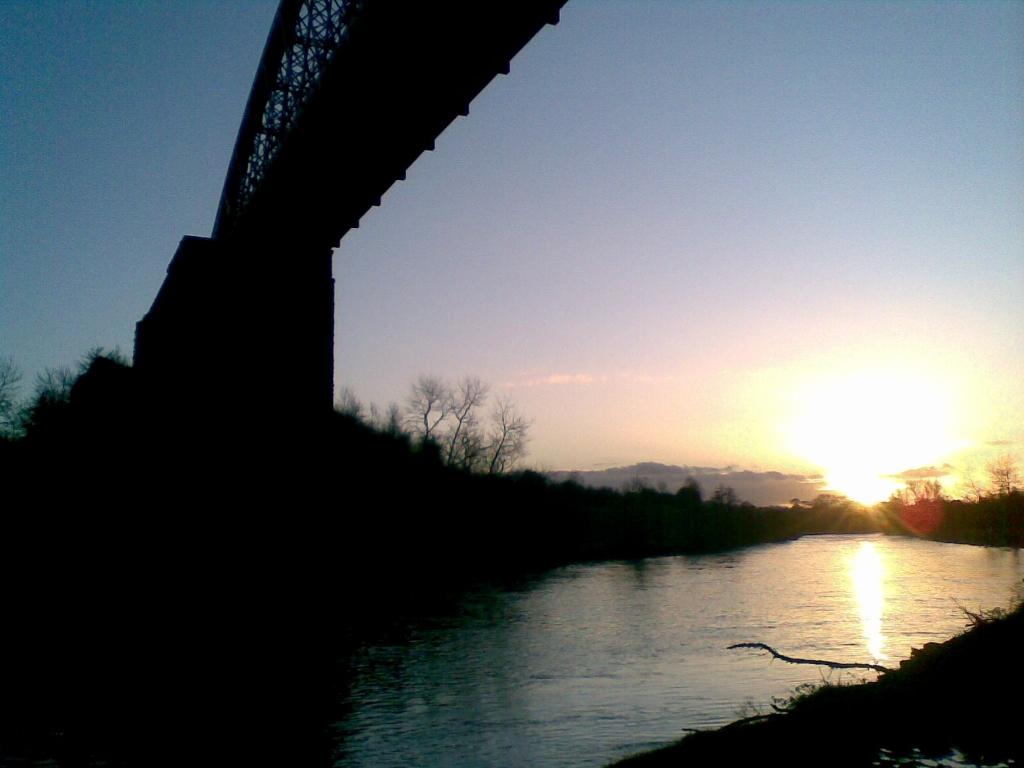 Wordless Wednesday ~ Sunset on the Barrow