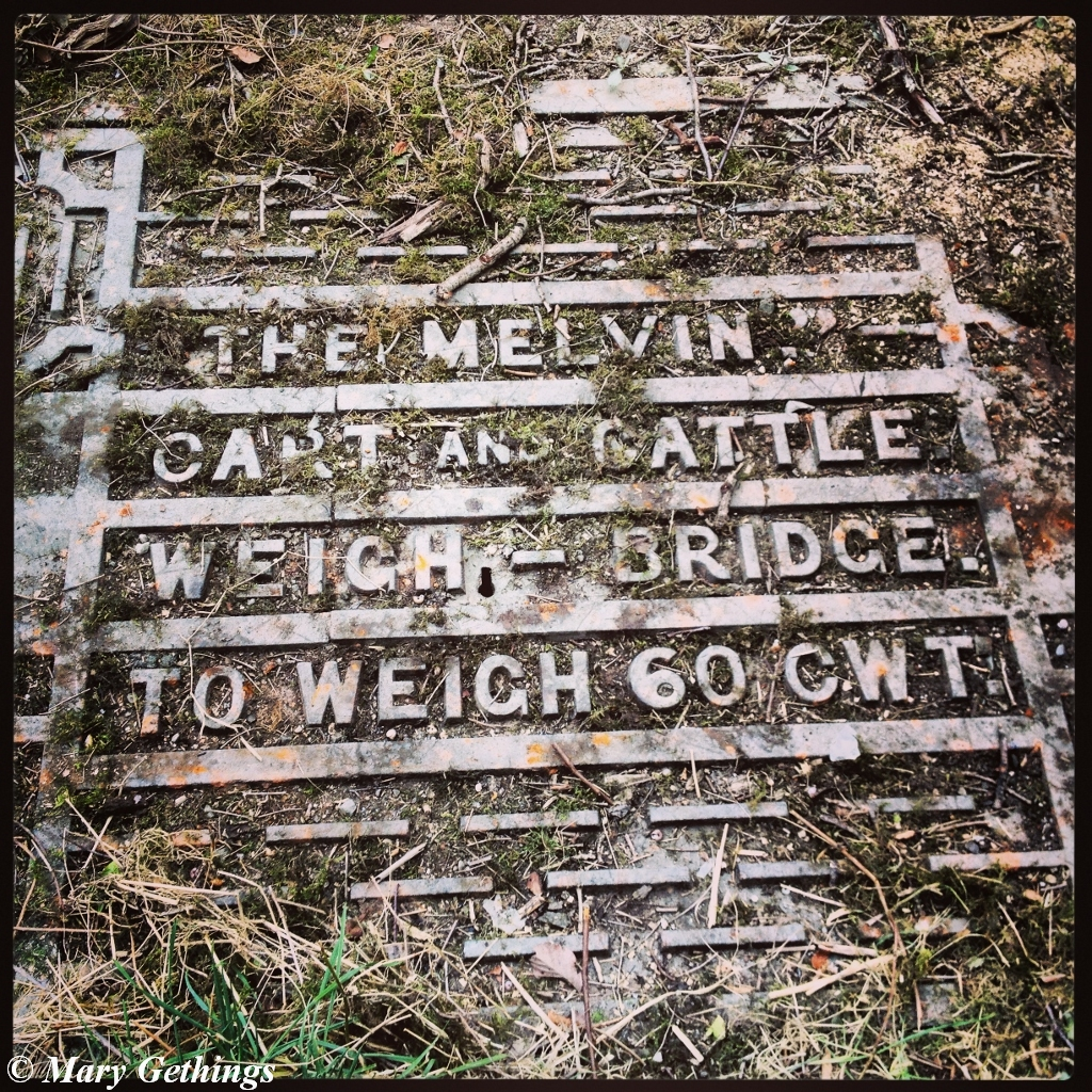 Wordless Wednesday ~ Old Mill Weigh Bridge
