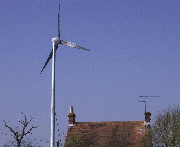 Ampair 6kW wind turbine