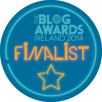Blog Awards Ireland 2014 - we've reached the finals