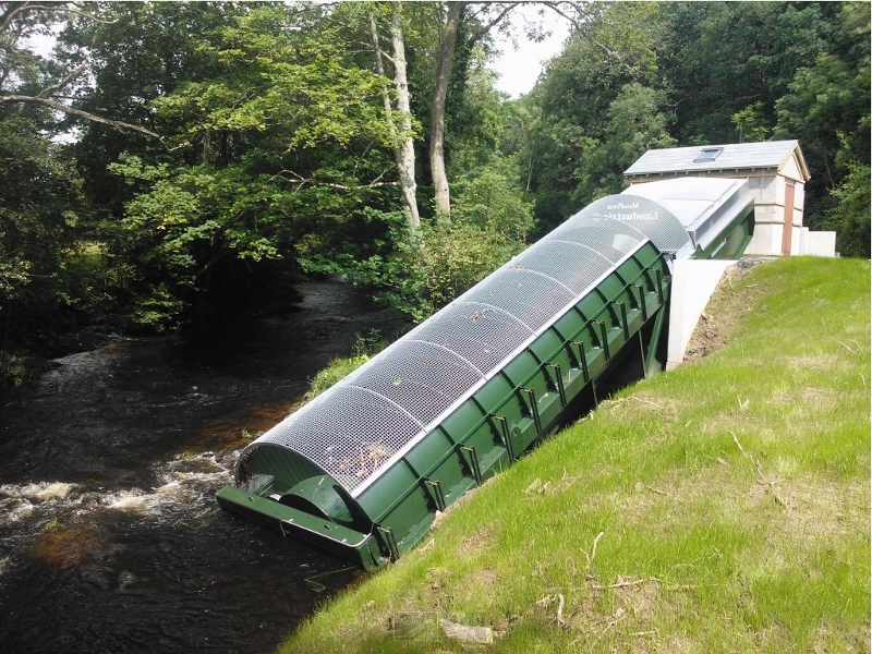 95kW Archimedean Screw Hydro turbine