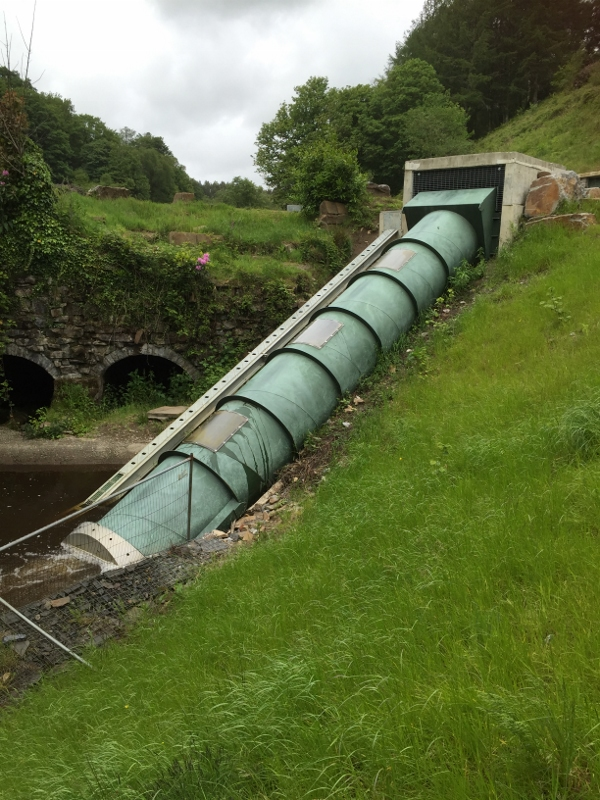 30kW Archimedean Screw