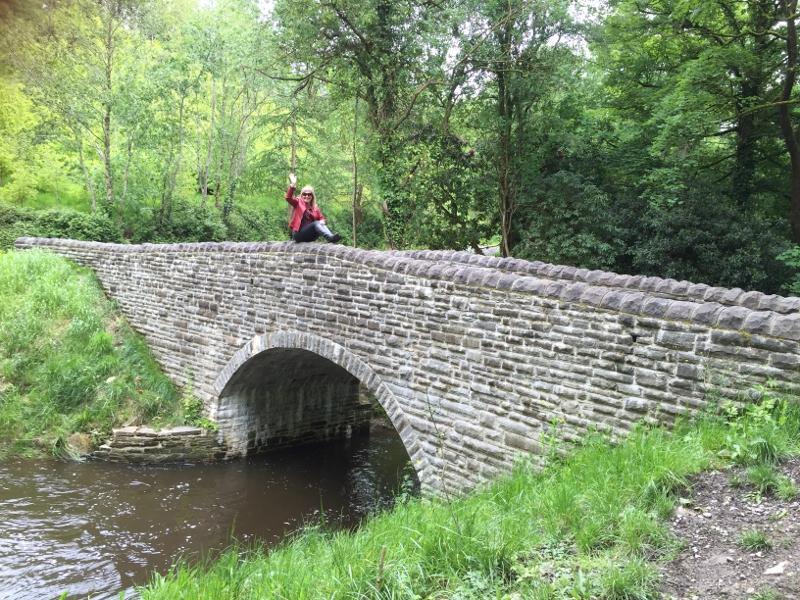 The original stone bridge