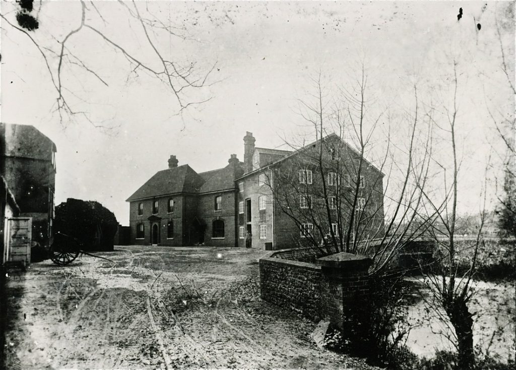 Frensham Mill during the Victorian era  Photo Credit: Frensham Mill