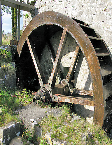 Traditional waterwheel