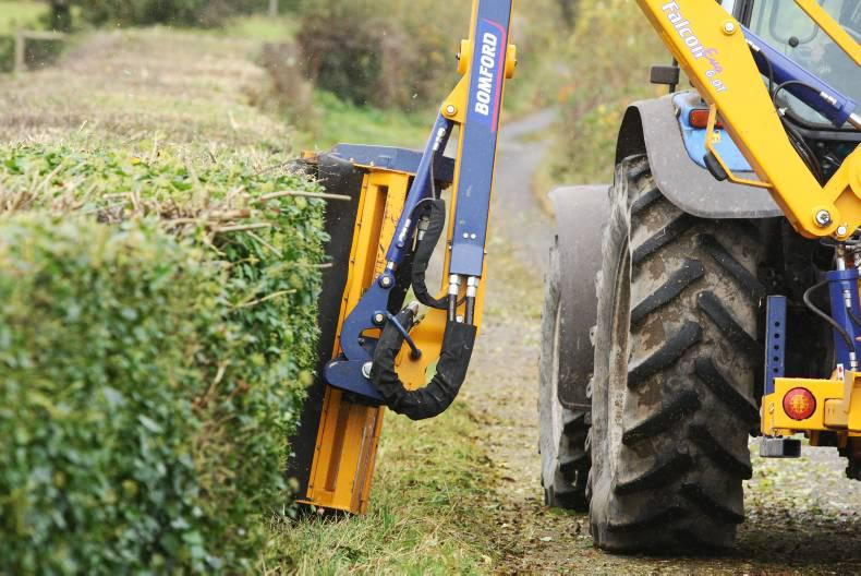 Hedge cutting is illegal from 1March - 31st Aug Photo credit: journal.ie