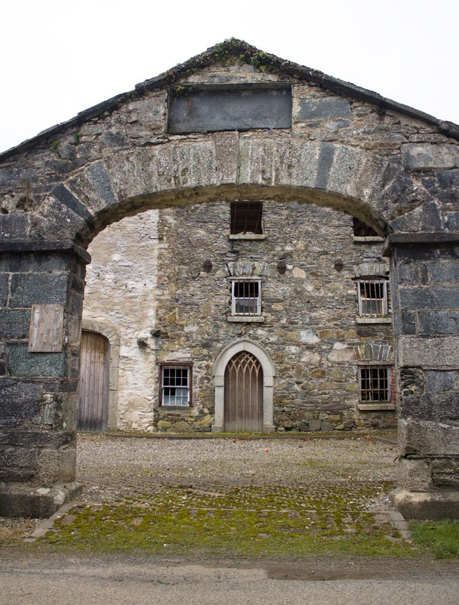 Entrance into Kilcarbery Mill